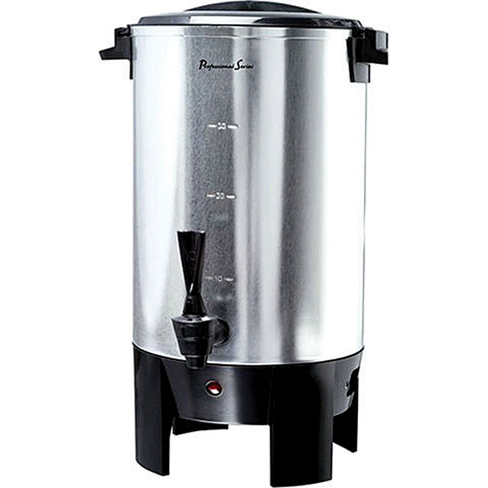Continental Electric Coffee Maker How To Use : CONTINENTAL Electric 30-Cup Stainless Steel Single Coffee Wall Urn - Fesco Distributors