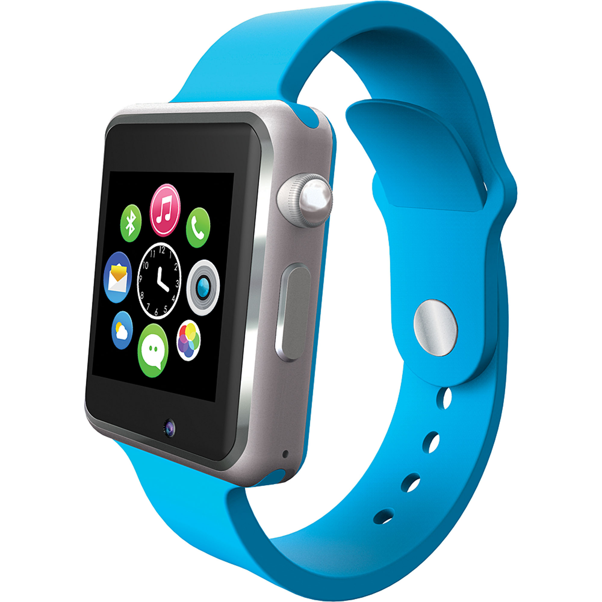 future and present green smartwatch top of smart watches past the