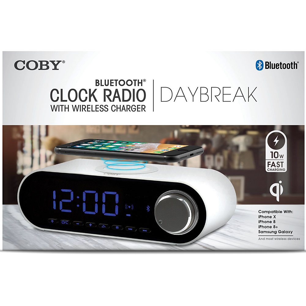 samsung wireless charger clock radio